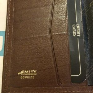 Amity Bags - Genuine Leather Amity Wallet